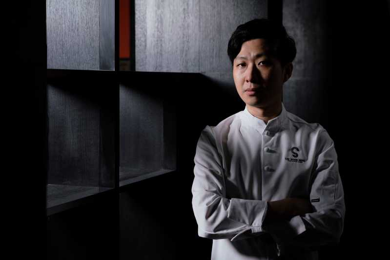Head shot of Lee Boon Seng, chef at Perch and The Spot in Singapore