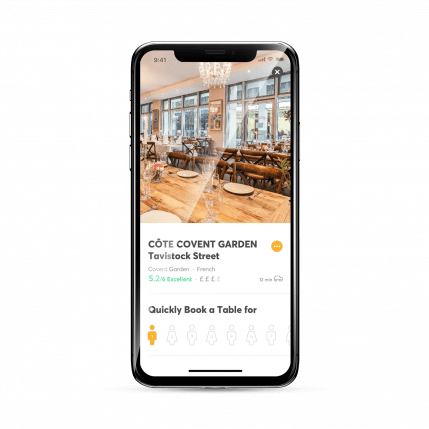 Get a table booked in a few taps. Quandoo. \[…\]  [Read More…](https://quisine.quandoo.co.uk/trends/download-new-quandoo-app/attachment/fast-checkout/)