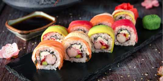 Sushi in London. Credit: Shutterstock \[…\]  [Read More…](https://quisine.quandoo.co.uk/guide/best-sushi-london/attachment/header-sush/)