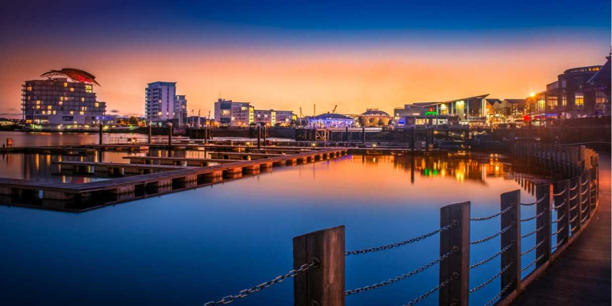 Sunset over Cardiff Bay. Source: Shutterstock \[…\]  [Read More…](https://quisine.quandoo.co.uk/guide/8-best-restaurants-cardiff-bay/attachment/cardiff-bay-header/)