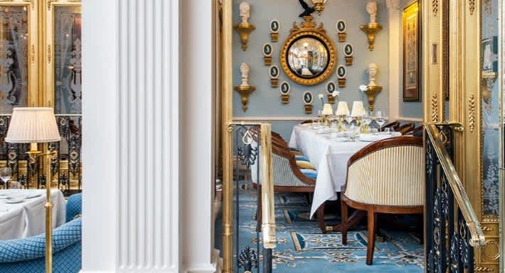 The lavish dining room at Céleste. Source: Quandoo \[…\]  [Read More…](https://quisine.quandoo.co.uk/guide/best-french-restaurant-london/attachment/celeste-dining-room/)