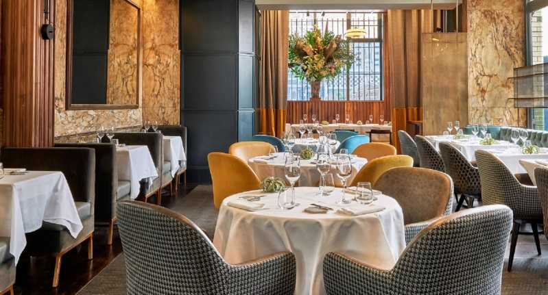 The dining room at Club Gascon boasts a sophisticated and elegant setting. Source: Quandoo \[…\]