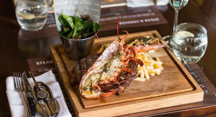 The signature Surf & Turf dish at Steak & Lobster – half a lobster, a grilled steak and unlimited fries. Source: Quandoo \[…\]
