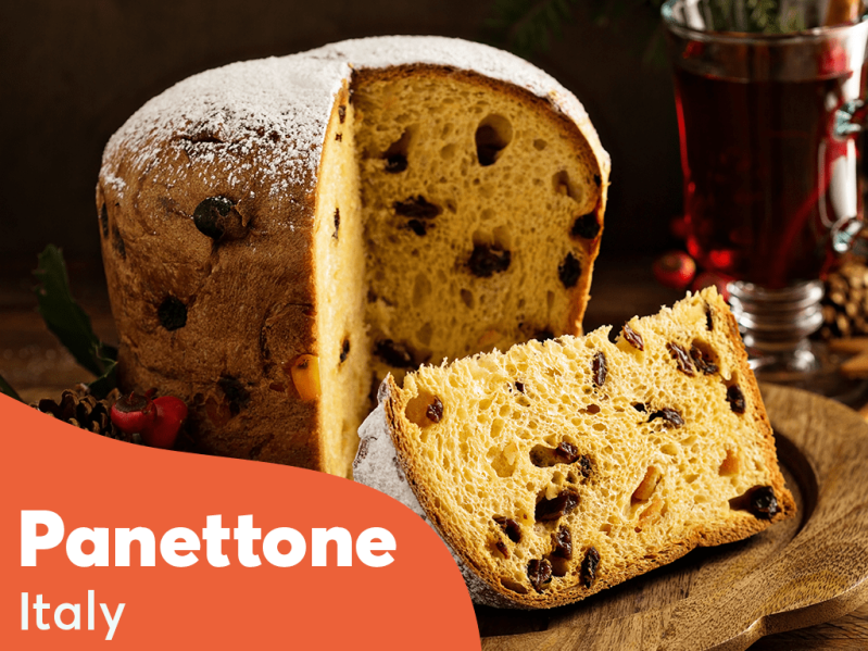 A form of Pannetone is eaten across Italy at Christmas. \[…\]  [Read More&#](https://quisine.quandoo.co.uk/trends/christmas-dinners-around-the-world/attachment/christmas_dinner_italy/)