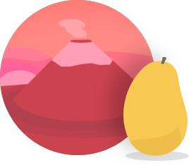 Mango's Japanese Manguito course badge icon.