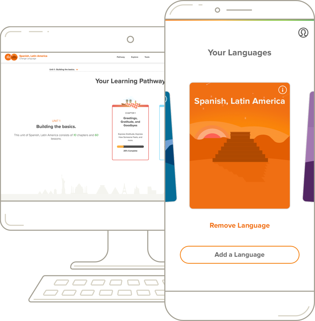 Learn spanish latin american start speaking spanish with mango mangos spanish desktop pathway and mobile course m4hsunfo