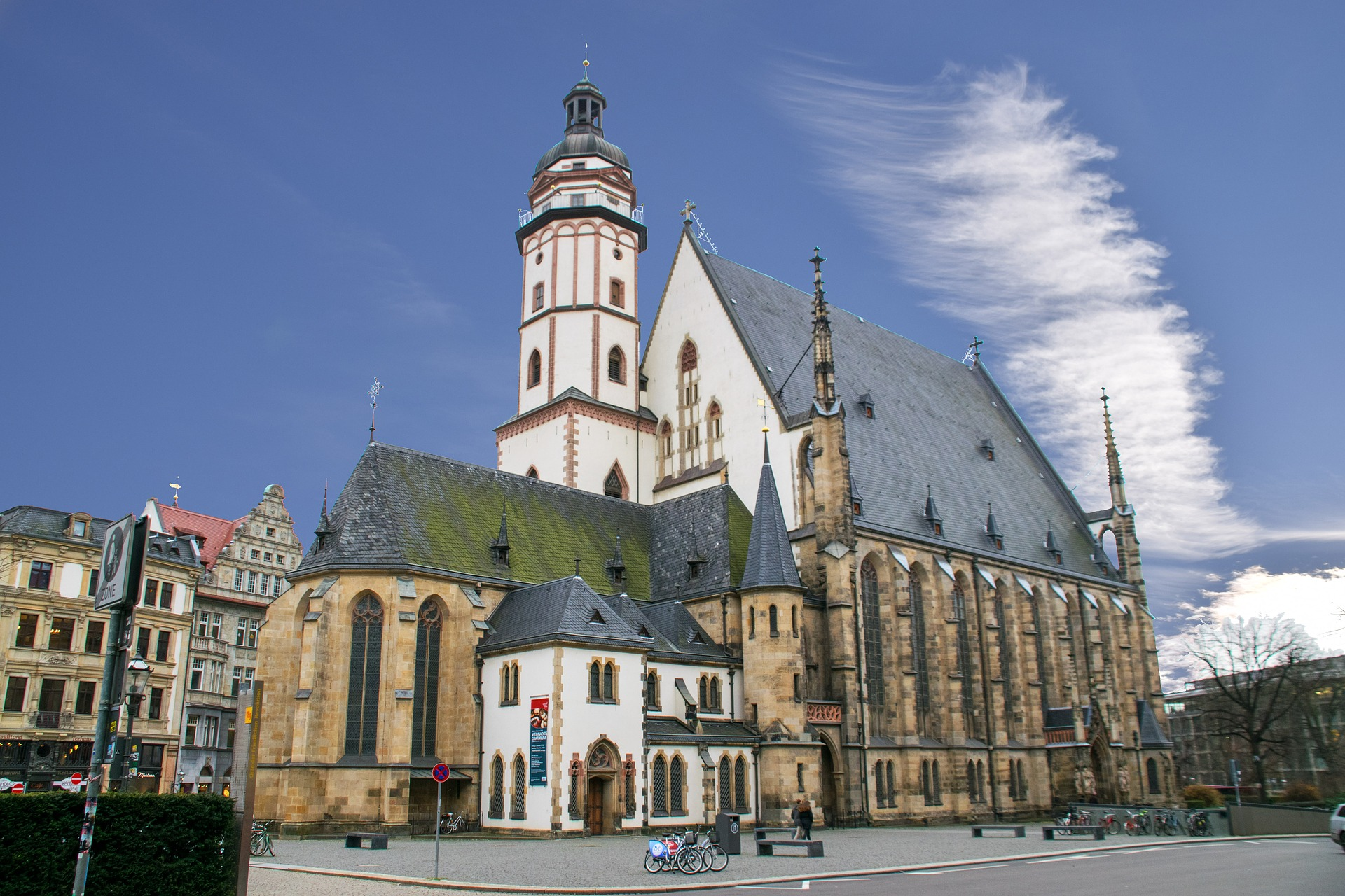 St. Thomas Church in Leipzig, Germany.