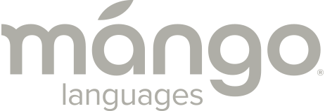 Mango Languages Logo Gray