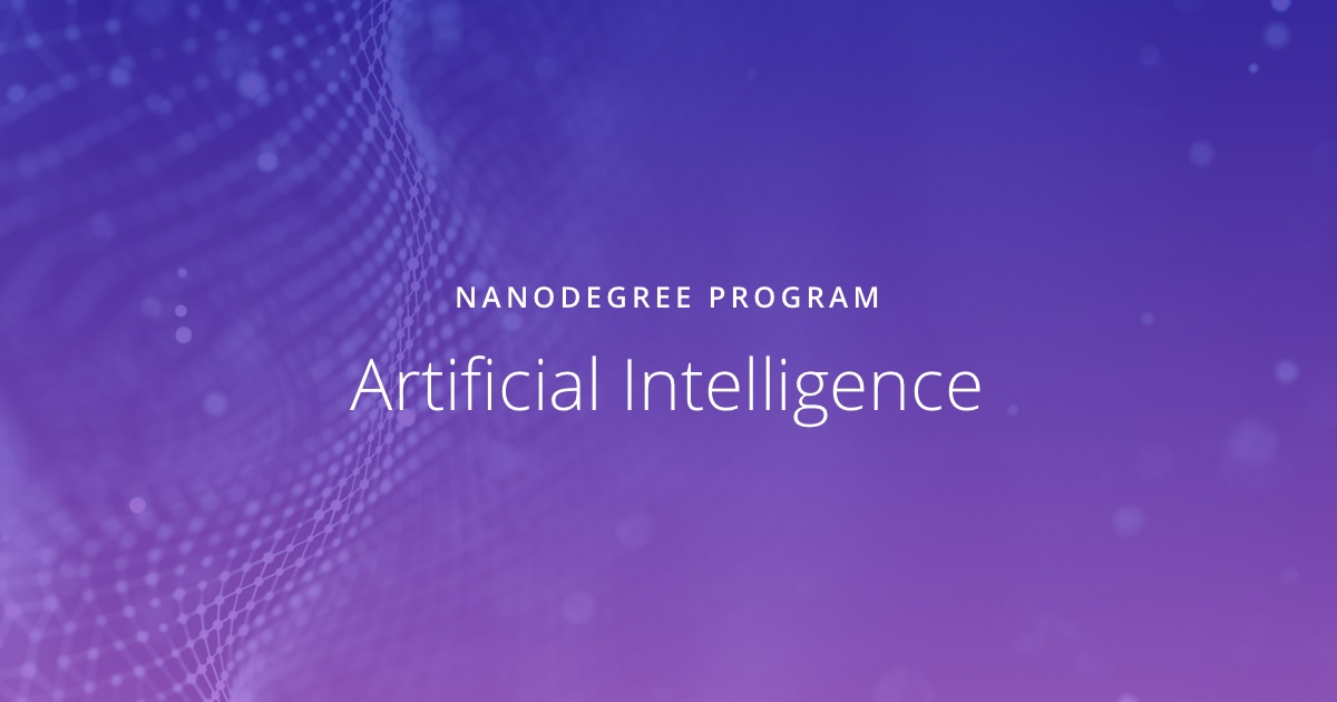 Artificial Intelligence | Udacity