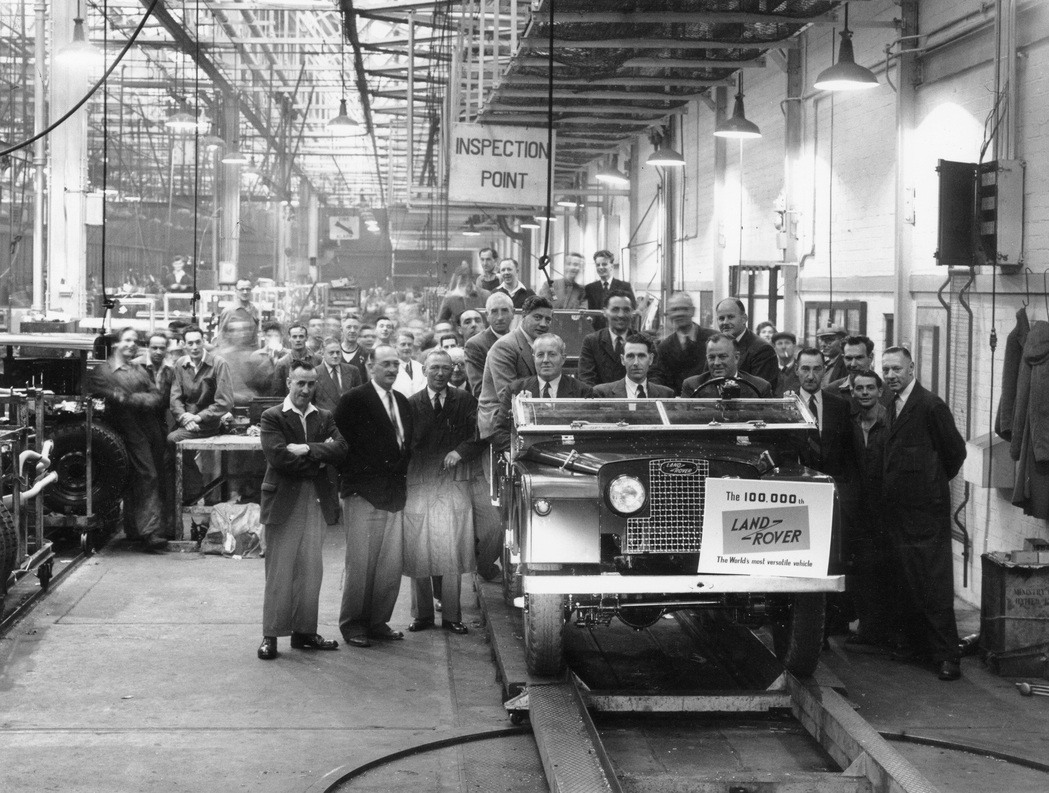 Historic factory of Jaguar Land Rover!
