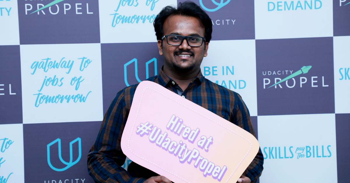 This is how Chandan CK landed his dream job with #UdacityPropel