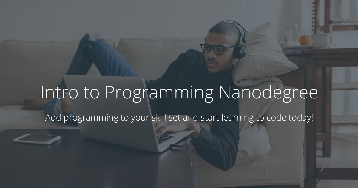 Introduction to Programming | Udacity