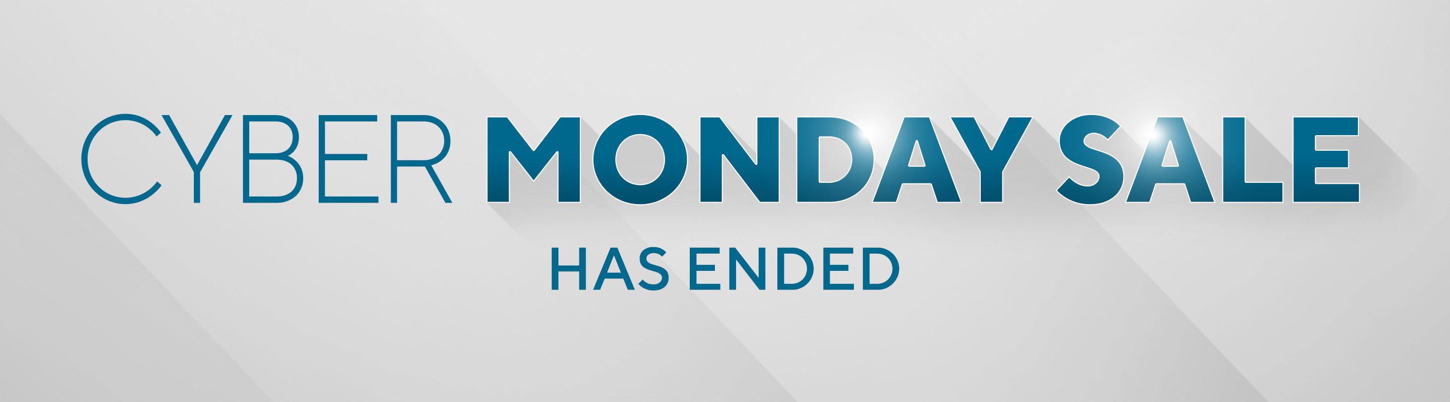 Cyber Monday Sale has Ended