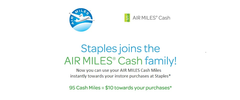 Air miles Cash offer