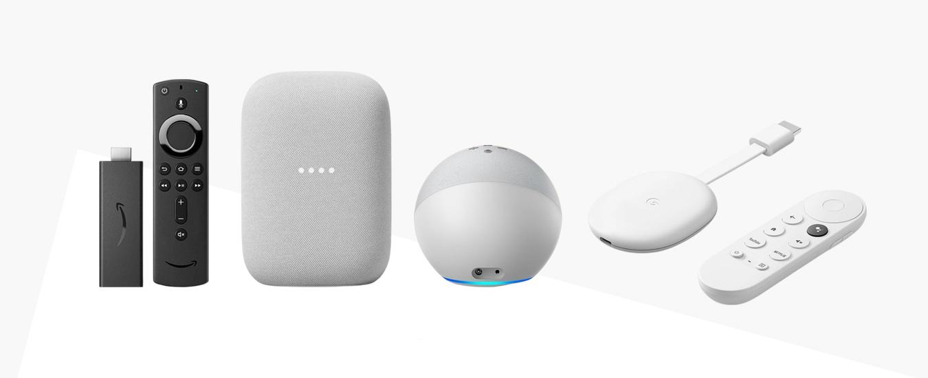 Google & Amazon Speakers