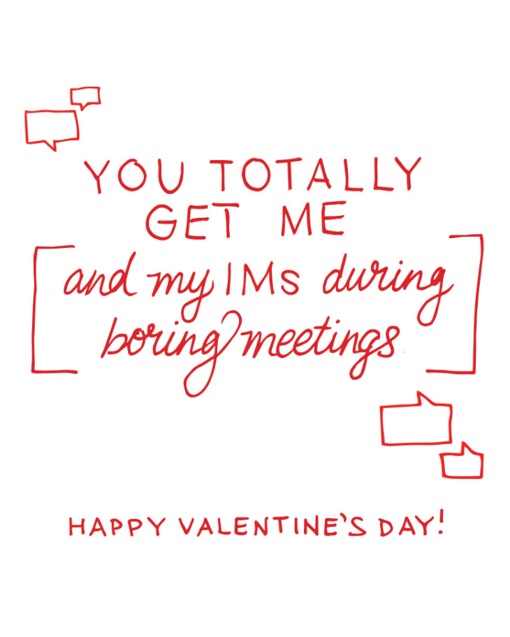 you totally get me office valentine