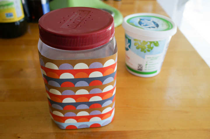 sparkle craft: DIY kitchen counter composter