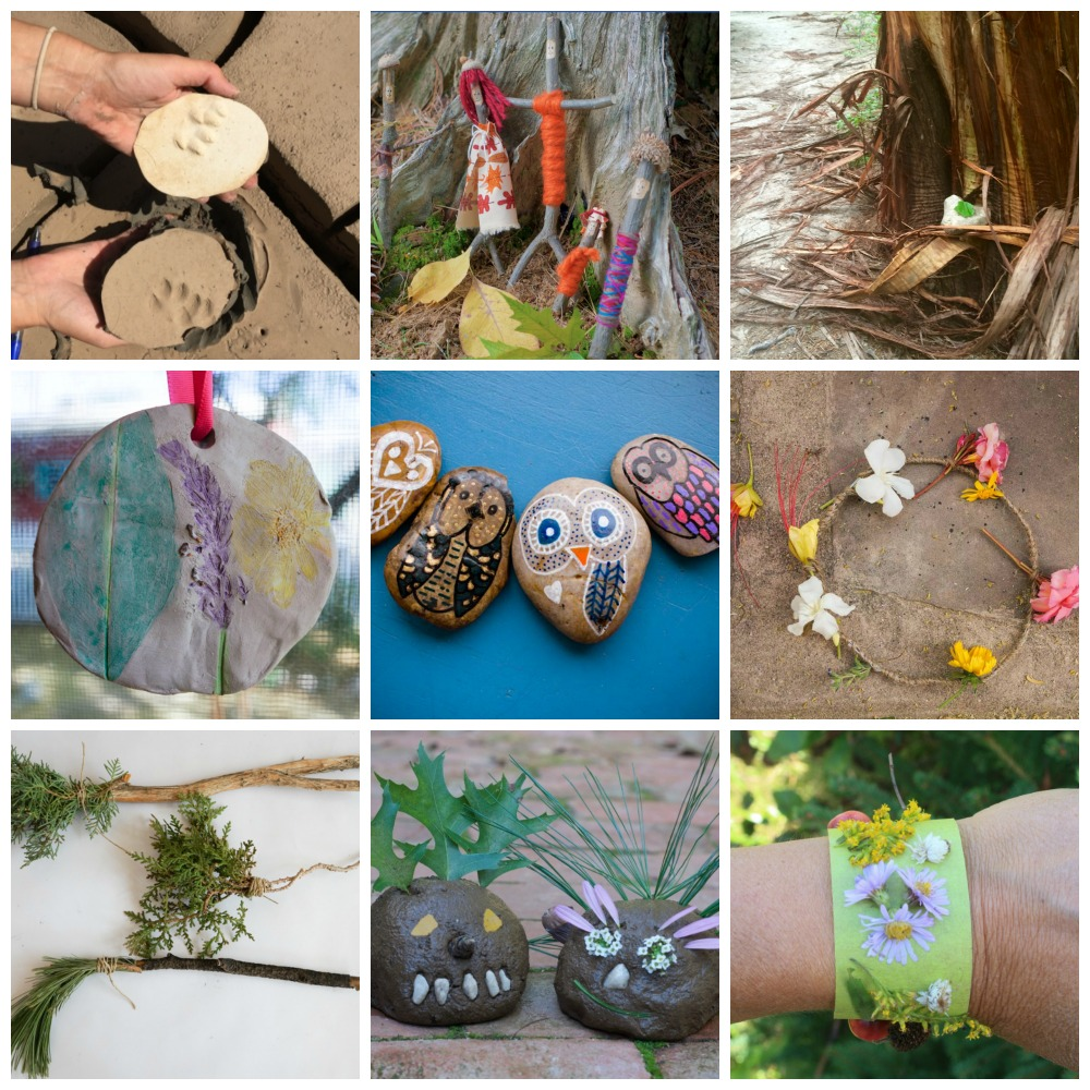 summer nature crafts round up
