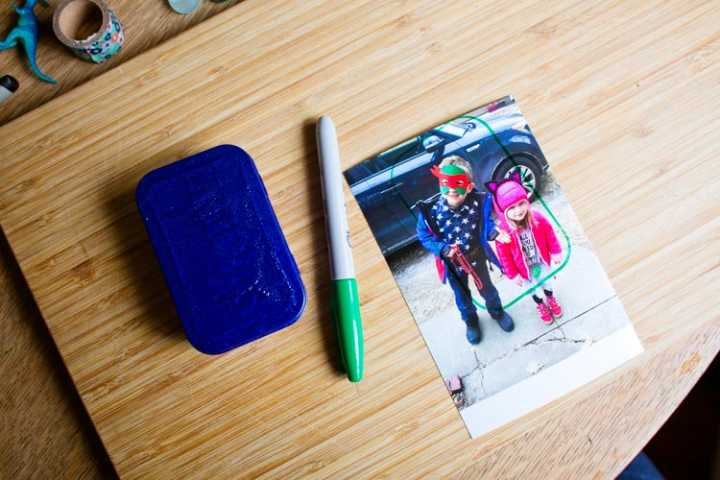 """bravery-in-a-box"" travel photo frame 10 
