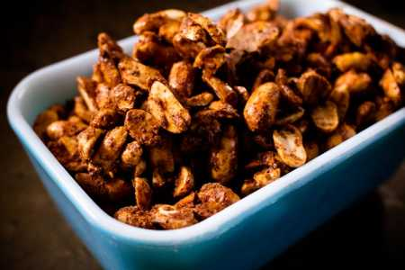 "sparkle kitchen: sweet and spicy ""circus"" peanuts"
