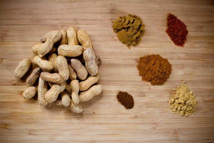 sweet and spicy peanuts 2 | www.sparklestories.com| by thistle by thimble
