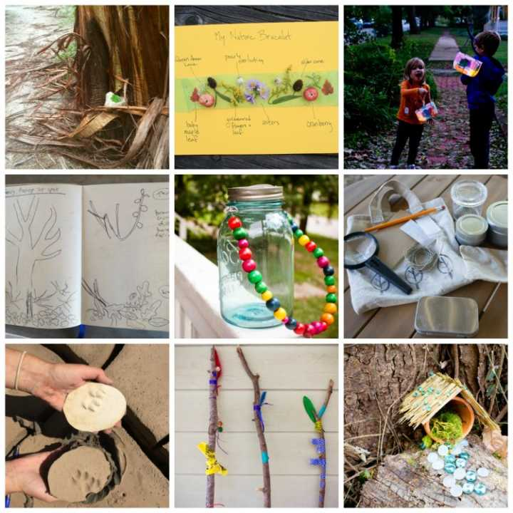 Nine Favorite Outdoor Crafts Round Up