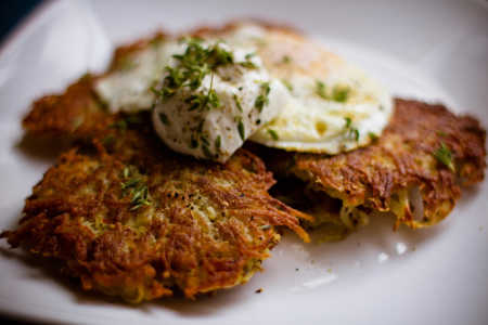 sparkle kitchen: latkes