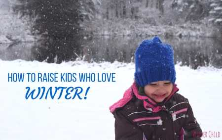 nature school project- raising kids who love winter