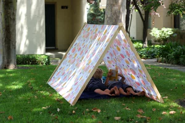 Collapsible Play Tent Tutorial
