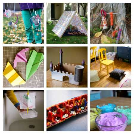 sparkle crafts: crafts and games for at home days