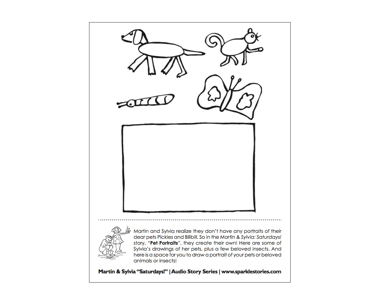 saturdays.printable.51 pet.portrait.BLOG