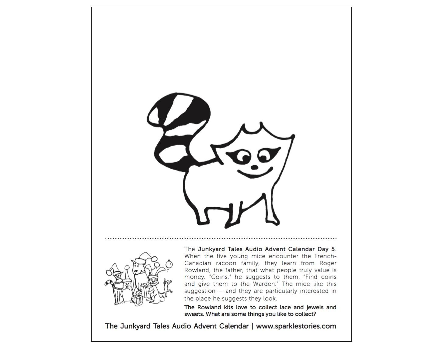 Junkyard Tales Audio Advent Calendar