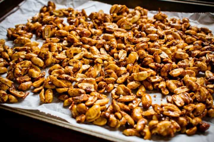 sweet and spicy peanuts 5 | www.sparklestories.com| by thistle by thimble