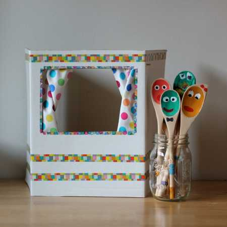 sparkle crafts: puppet theater