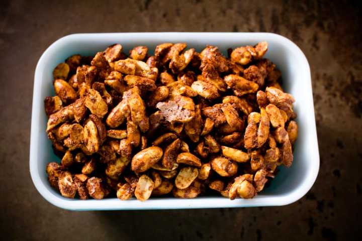 sweet and spicy peanuts 8 | www.sparklestories.com| by thistle by thimble