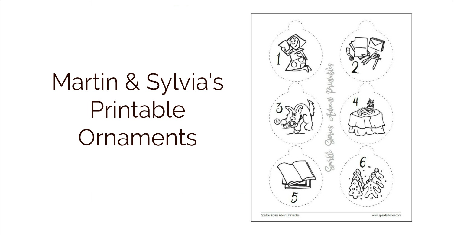 M&S printable ornaments banner