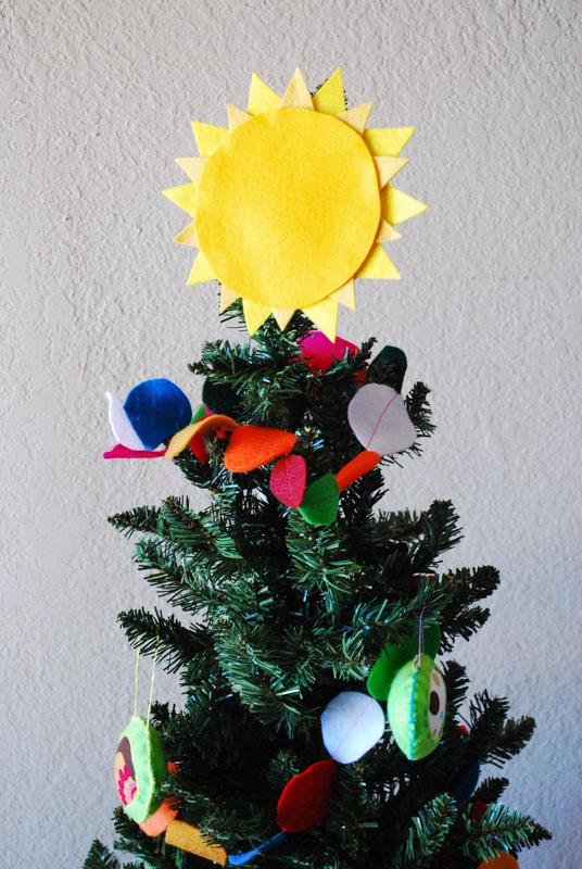 Sparkle Craft Solstice Sun Tree Topper Sparkle Stories