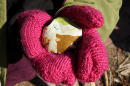 sparkle craft: pocket hand warmers