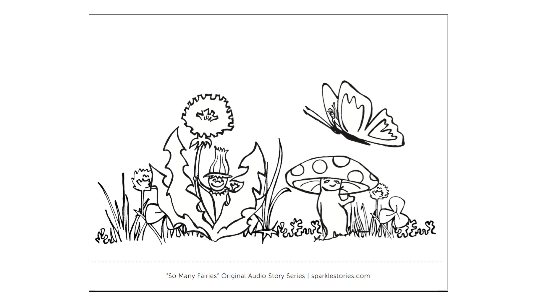 sparkle gift subscriptions coloring page printables and a big ole