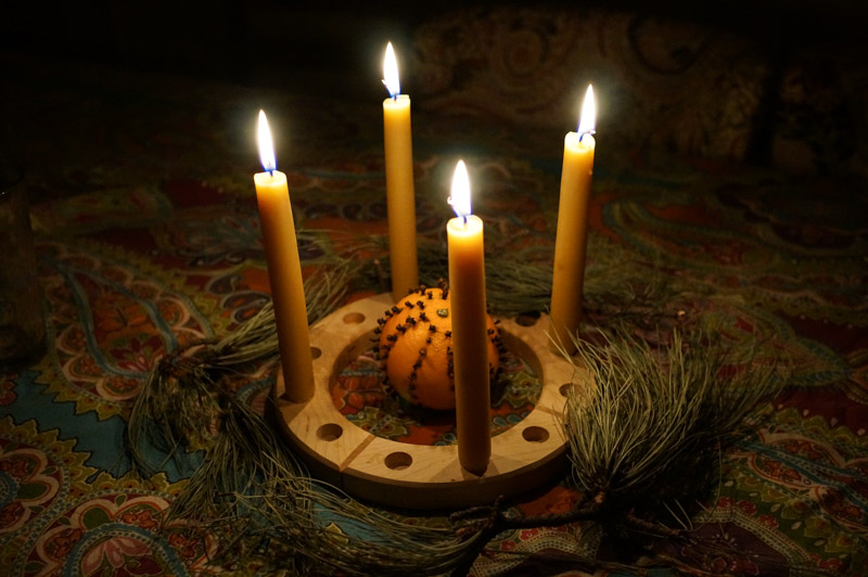 Celebrating Solstice With Candles >> Celebrating Winter Solstice Sparkle Stories