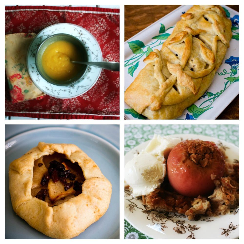 Four Autumn Apple Recipes