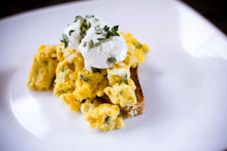 sparkle kitchen: mother's day egg scramble