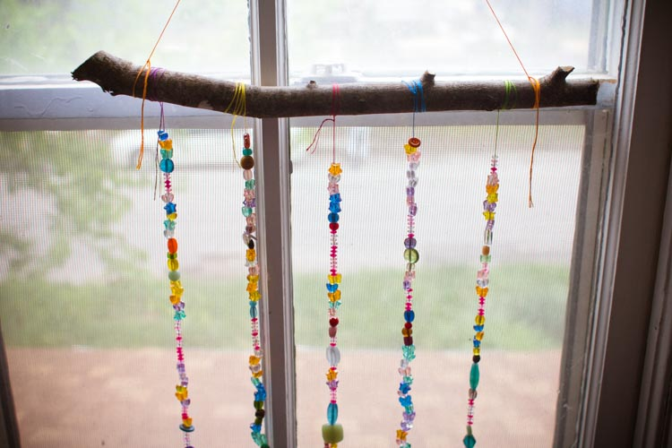 sparkle craft- beaded light catcher 6 - Sparkle Stories