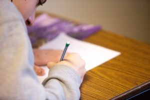 Why do some students struggle to copy from the board?