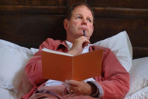 Michael Morpurgo's writing habits