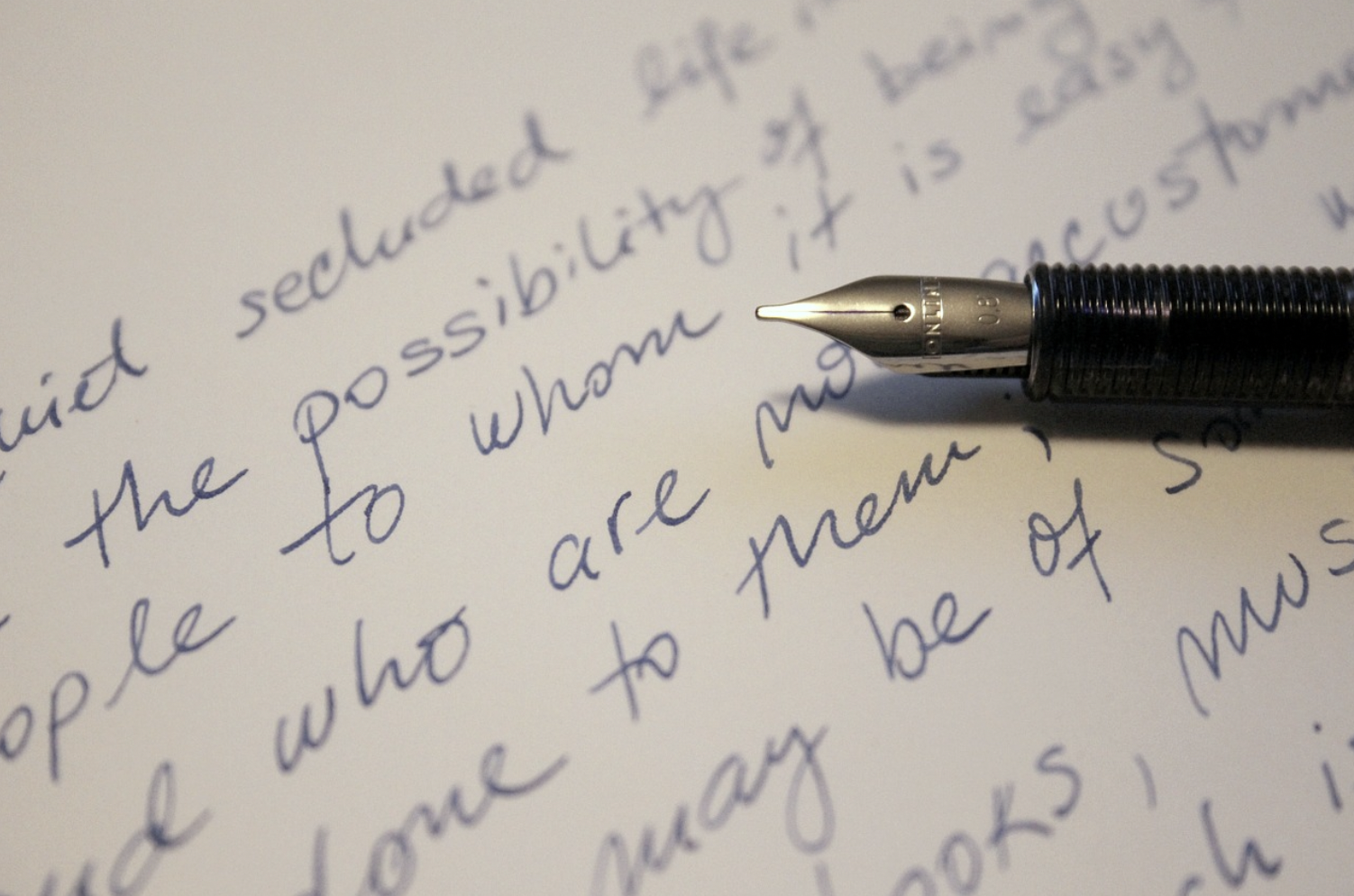 Should We Worry About Handwriting?
