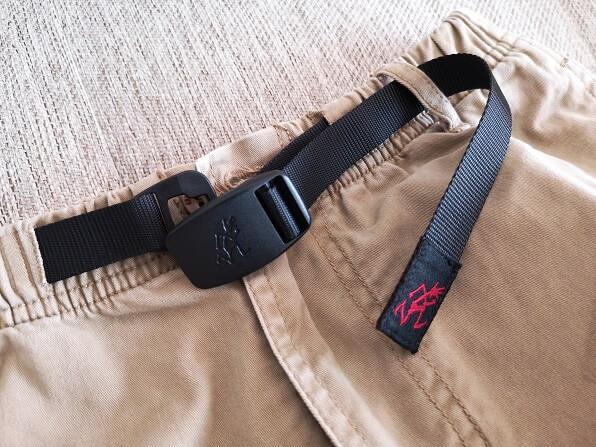 NNパンツのベルト