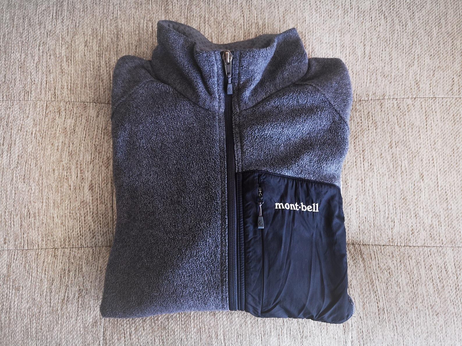 モンベルのクリマプラス100ジャケット