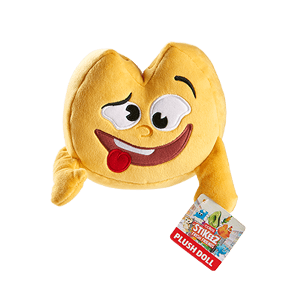 Stikeez Plush Toy - Chip Cheese