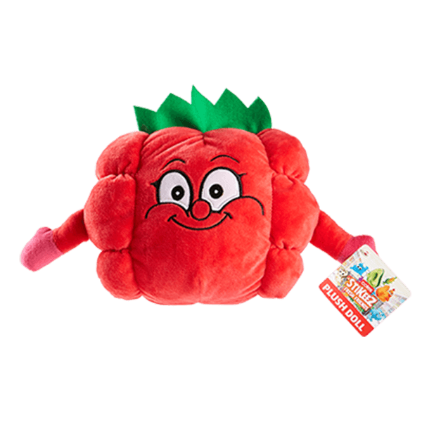 Stikeez Plush Toy - Ruby Raspberry